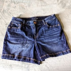 NWOT Maurices Jean Shorts size 12